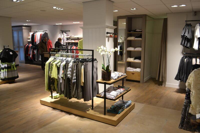 interieurbouw kledingwinkel