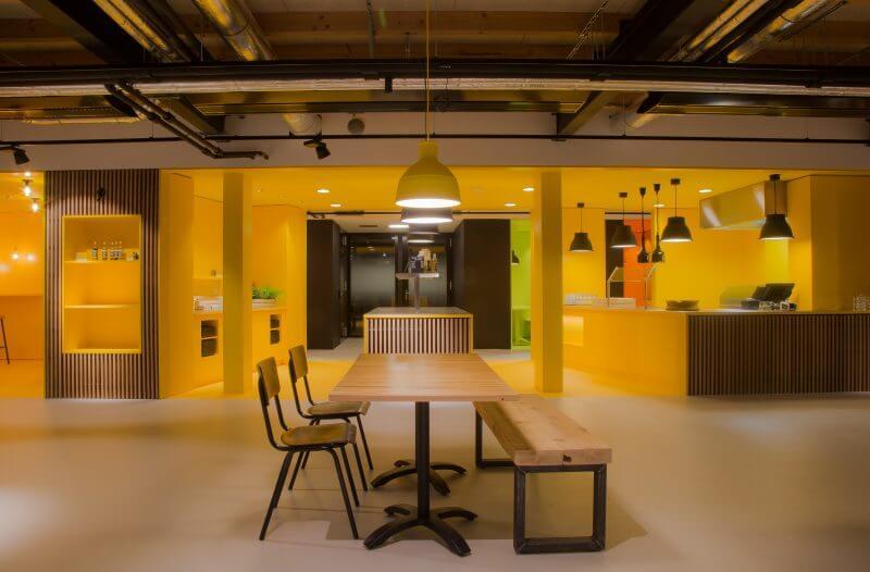 Interieurbouw kantoorinrichting b2b