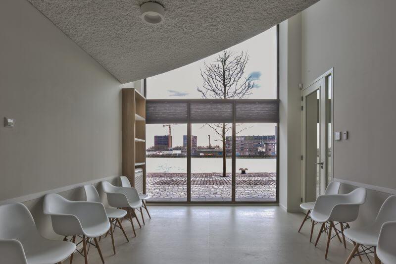 Gezondheidscentrum Rotterdam maatwerk interieurbouw