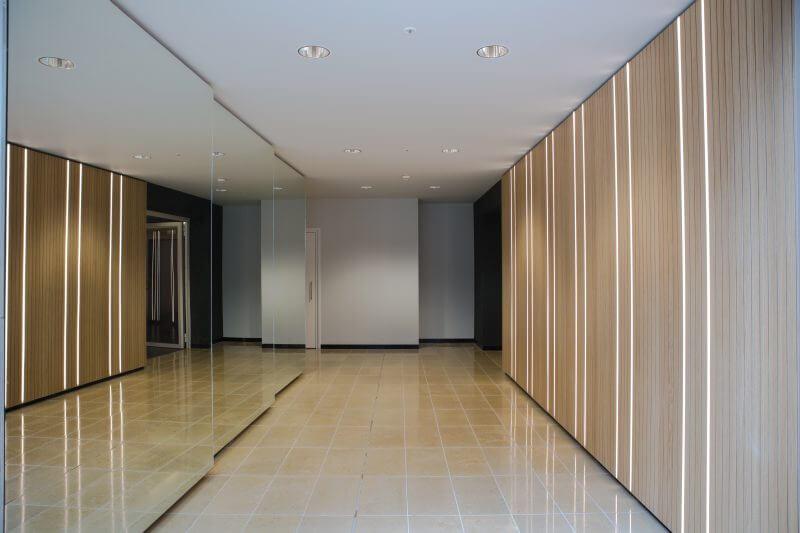 Interieurbouw commerciële wereldstad WTC Amsterdam