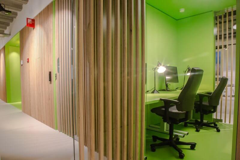 Interieurbouw kantoren door Haklander interieurbouw