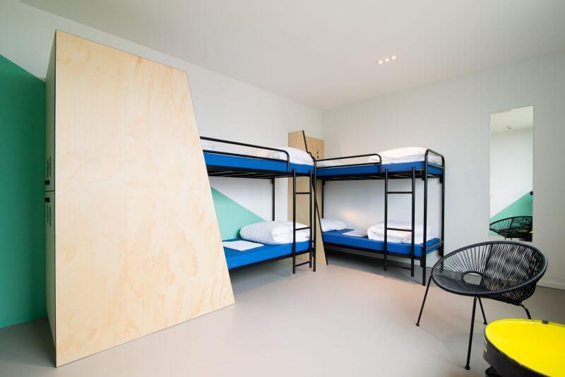 Interieurbouw hotelkamers door Haklander interieurbouw