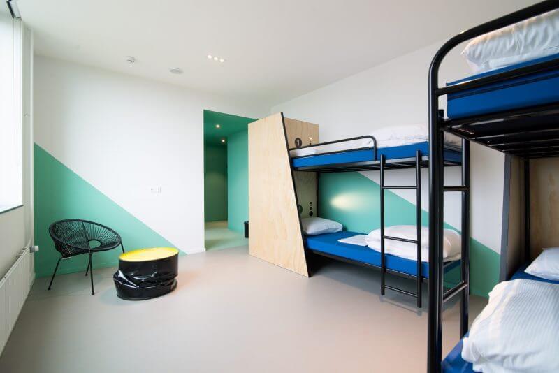 Interieurbouw voor hotelkamers door Haklander Interieurbouw