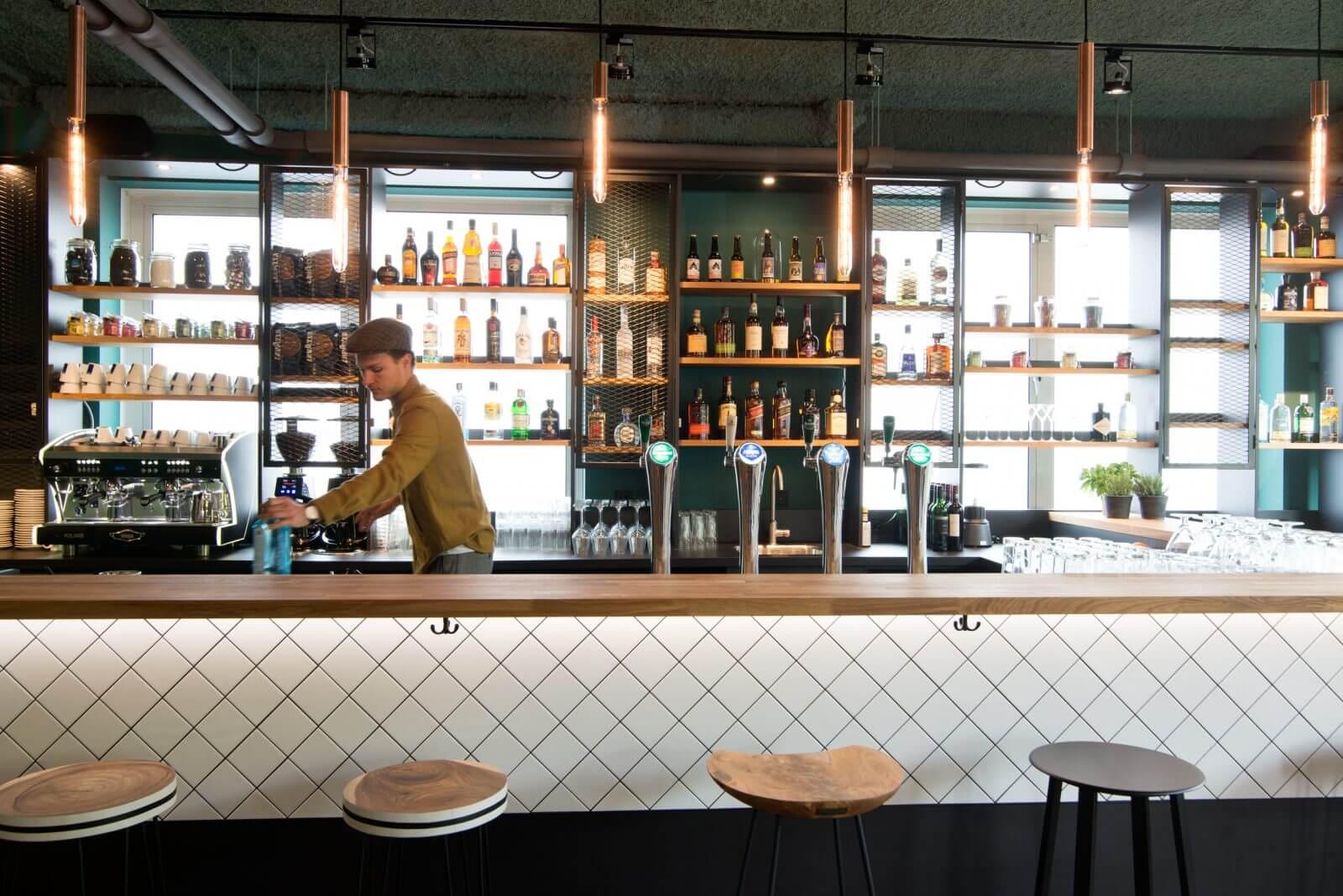 Restaurant interieur door Haklander interieurbouw