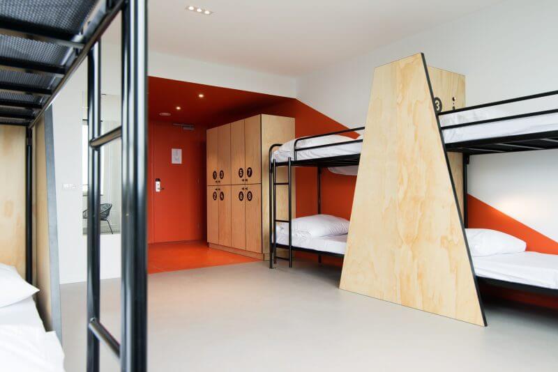 Haklander interieurbouw bouwt hotelinterieur VIA Hotel