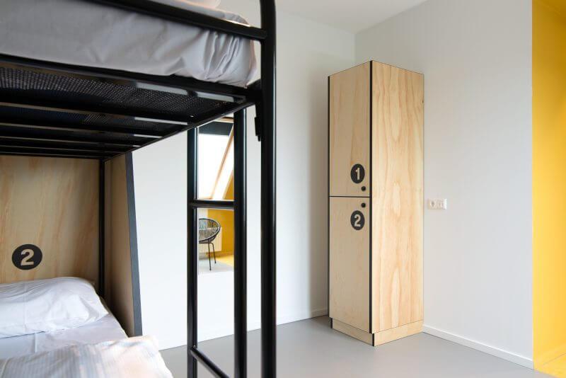 Hotelinterieur VIA hotel Diemen door Haklander interieurbouw
