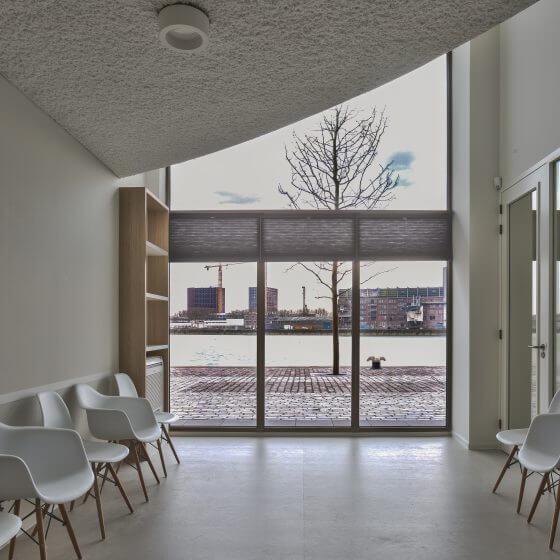 Interieurbouw gezondheidscentrum in Rotterdam