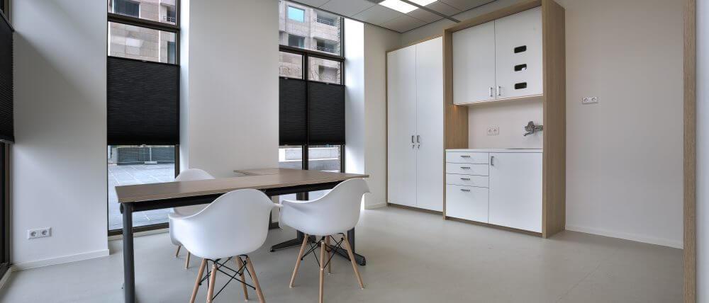 Interieurbouw gezondheidscentrum | Haklander interieurbouw