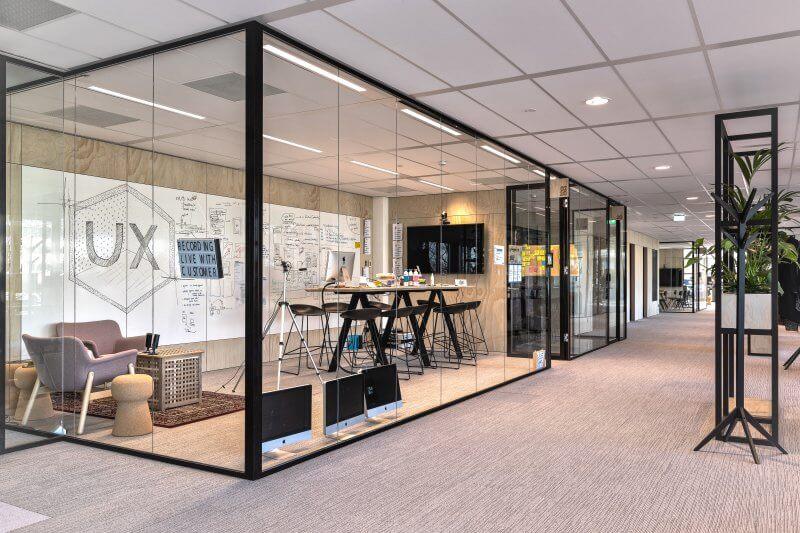 Open werkruimtes kantoor | Haklander Interieurbouw