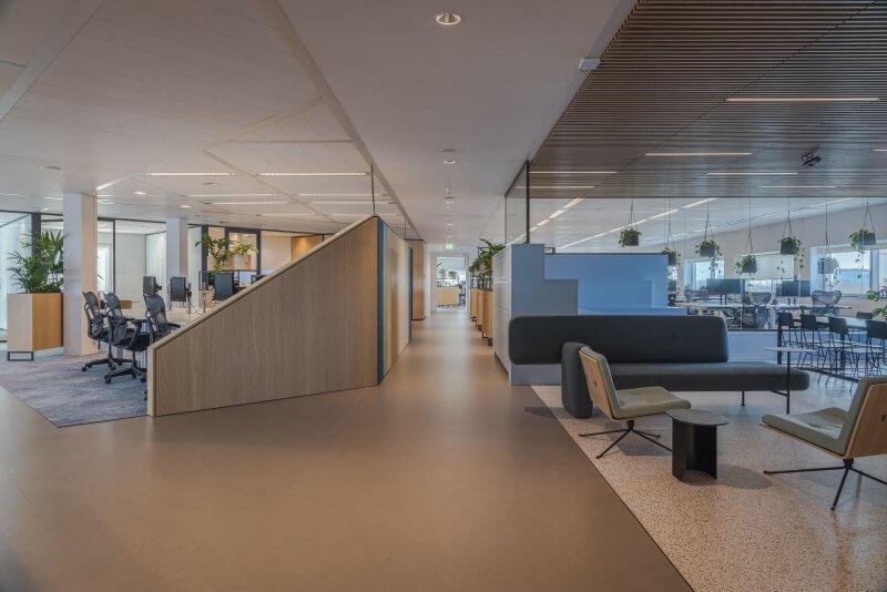 Wanden open kantoorruimtes | Haklander Interieurbouw