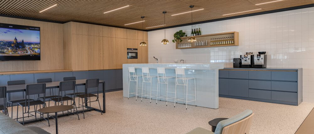 Keuken kantoorruimte | Haklander Interieurbouw