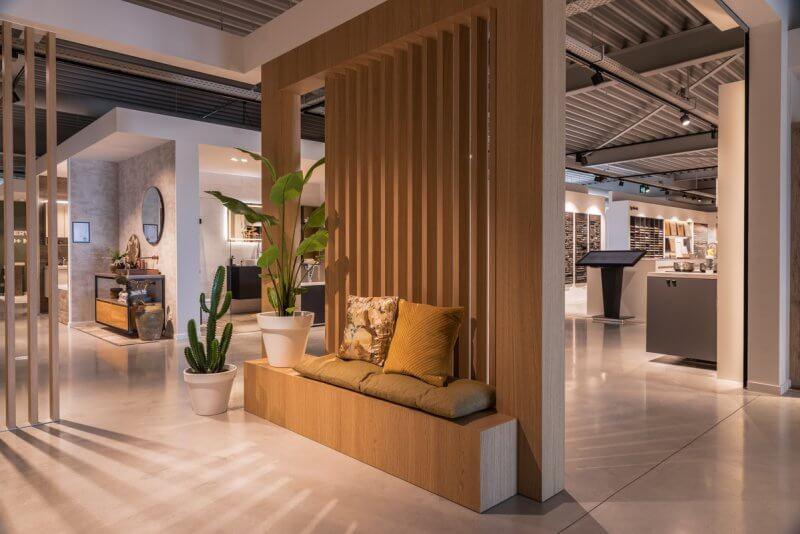 Inrichting showroom | Haklander interieurbouw